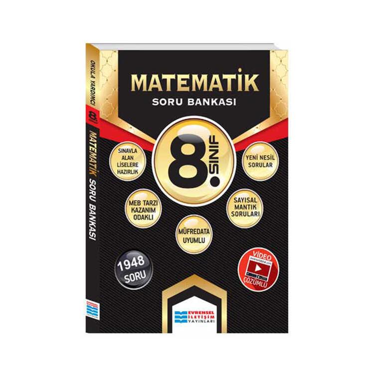 Evrensel İletişim Yayınları 8. Sınıf Matematik Video Çözümlü Soru Bankası