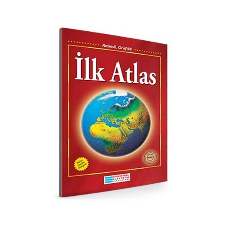 Evrensel İletişim Yayınları Resimli Grafikli İlk Atlas