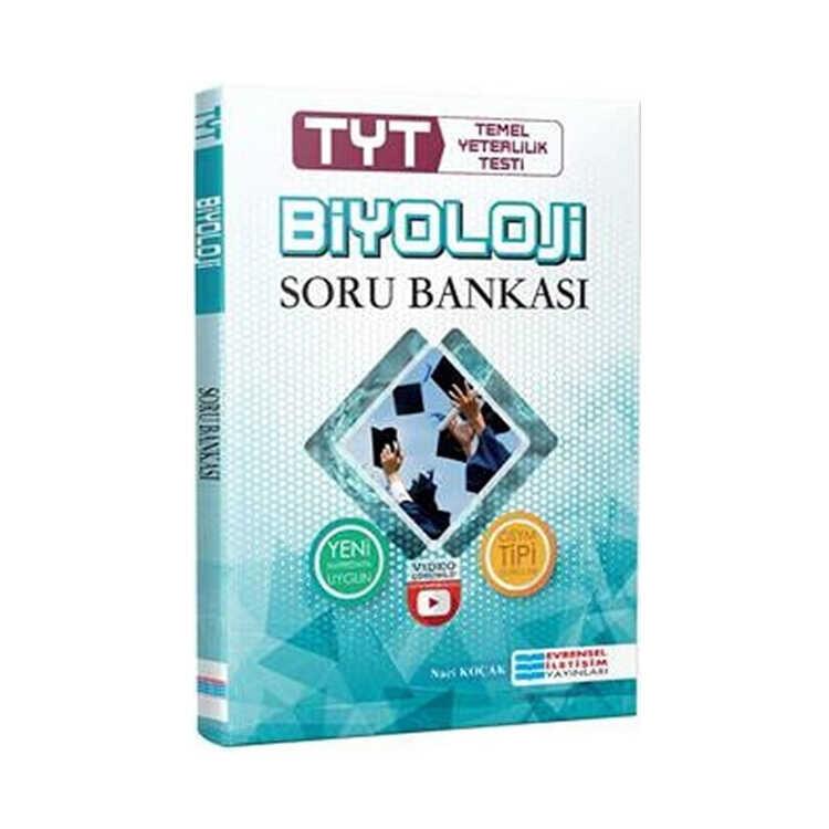 Evrensel İletişim Yayınları TYT Biyoloji Video Çözümlü Soru Bankası