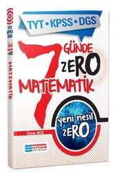 Evrensel İletişim Yayınları - Evrensel İletişim Yayınları TYT KPSS DGS Yeni Nesil ZERO Matematik