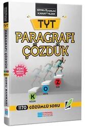 Evrensel İletişim Yayınları - Evrensel İletişim Yayınları TYT Paragrafı Çözdük KOZ Çözümlü Soru Bankası