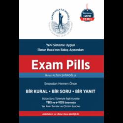 Saklı Bilgi Yayınları - Exam Pills YDS 1 Kural 1 Soru 1 Yanıt