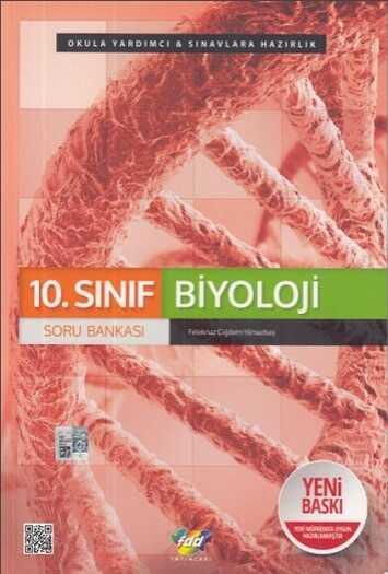 FDD Yayınları 10. Sınıf Biyoloji Soru Bankası