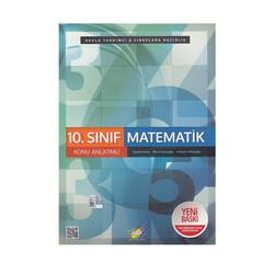 FDD Yayınları - FDD Yayınları 10. Sınıf Matematik Konu Anlatımlı