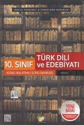 FDD Yayınları - FDD Yayınları 10. Sınıf Türk Dili ve Edebiyatı Konu Anlatımlı Soru Bankası