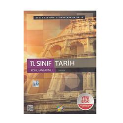 FDD Yayınları - FDD Yayınları 11. Sınıf Tarih Konu Anlatımlı