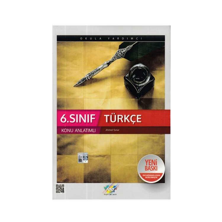 FDD Yayınları 6. Sınıf Türkçe Konu Anlatımı