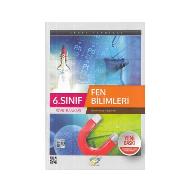 FDD Yayınları 6.Sınıf Fen Bilimleri Soru Bankası