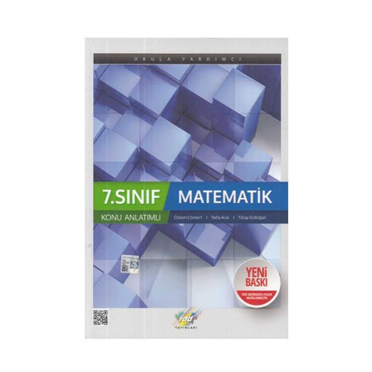 FDD Yayınları 7. Sınıf Matematik Konu Anlatımı