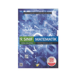 FDD Yayınları - FDD Yayınları 9. Sınıf Matematik Konu Anlatımlı
