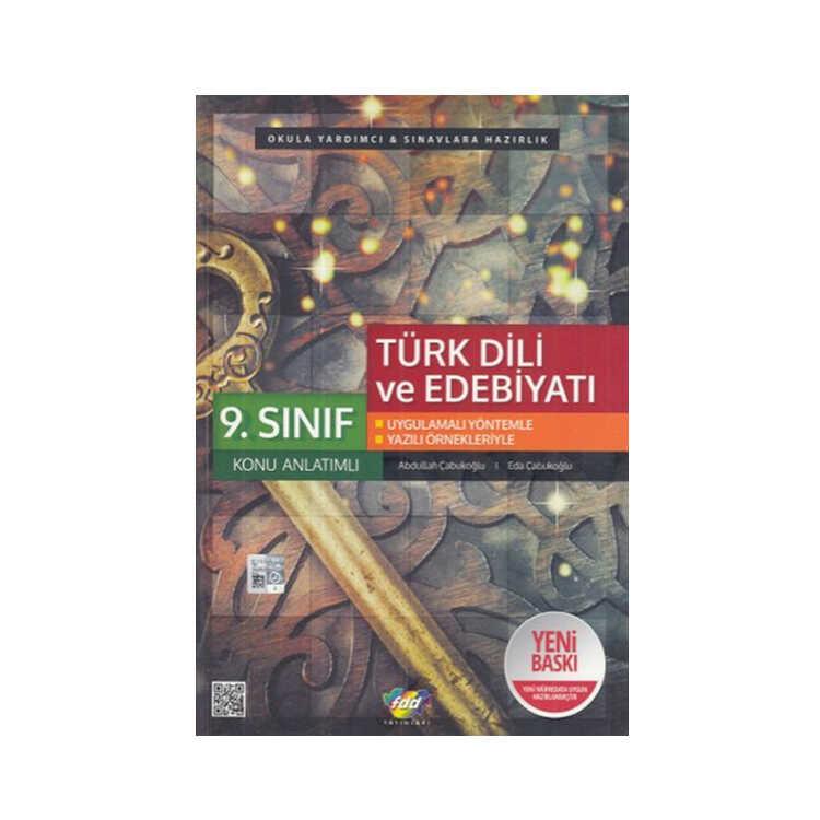 FDD Yayınları 9.Sınıf Türk Dili ve Edebiyatı Konu Anlatımlı