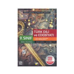 FDD Yayınları - FDD Yayınları 9.Sınıf Türk Dili ve Edebiyatı Konu Anlatımlı