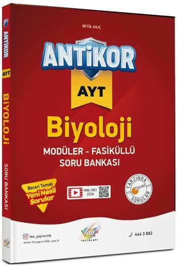FDD Yayınları AYT Antikor Biyoloji Modüler Fasiküllü Soru Bankası