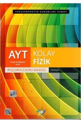 FDD Yayınları - FDD Yayınları AYT Kolay Fizik İpuçlarıyla Soru Bankası