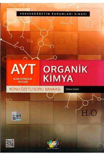 FDD Yayınları AYT Organik Kimya Konu Özetli Soru Bankası