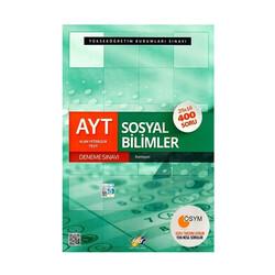 FDD Yayınları - FDD Yayınları AYT Sosyal Bilimler Deneme Sınavı