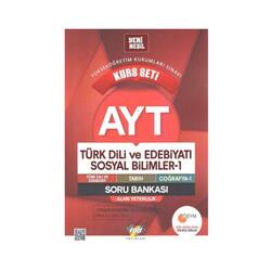 FDD Yayınları - FDD Yayınları AYT Türk Dili ve Edebiyatı Sosyal Bilimler Kurs Seti Soru Bankası