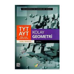 FDD Yayınları - FDD Yayınları TYT AYT Kolay Geometri Soru Bankası