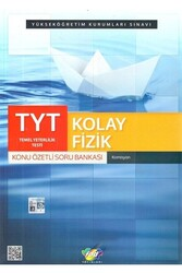 FDD Yayınları - FDD Yayınları TYT Kolay Fizik Konu Özetli Soru Bankası