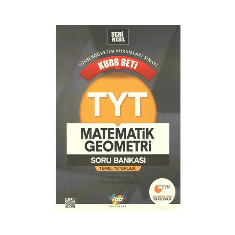FDD Yayınları TYT Matematik Geometri Kurs Seti Soru Bankası