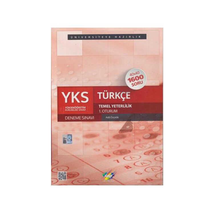 FDD Yayınları YKS 1. Oturum TYT Türkçe 40x40 Deneme Sınavı