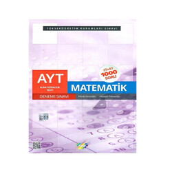FDD Yayınları - FDD Yayınları YKS 2. Oturum AYT Matematik 25x40 Deneme Sınavı