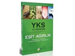 FDD Yayınları - FDD Yayınları YKS Eşit Ağırlık 10 Deneme Türk Dili Ve Edebiyatı Sosyal Bilimler 1 Matematik