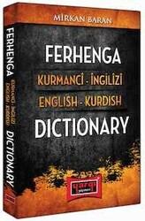 Yargı Yayınları - Ferhenga Kurmanci İngilizi - English Kurdish Dictionary