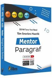 Fides Yayınları - Fides Yayınları KPSS TYT ALES DGS Paragraf Mentor Soru Bankası