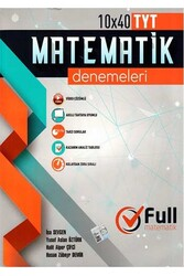 Full Matematik Yayınları - Full Matematik Yayınları TYT Matematik 10x40 Denemeleri