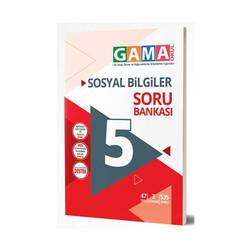 Gama Yayınları - Gama Okul Yayınları 5. Sınıf Sosyal Bilgiler Soru Bankası