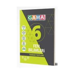 Gama Yayınları - Gama Okul Yayınları 6. Sınıf Fen Bilimleri Tekrar Testleri