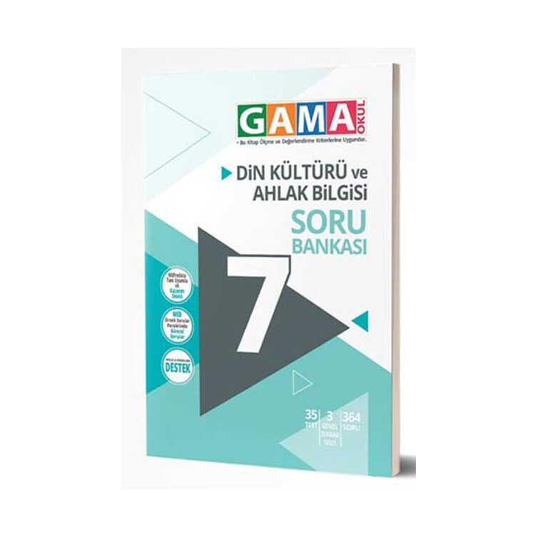 Gama Okul Yayınları 7. Sınıf Din Kültürü ve Ahlak Bilgisi Soru Bankası