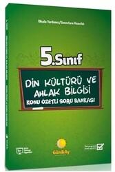 Günay Yayınları - Günay Yayınları 5. Sınıf Din Kültürü ve Ahlak Bilgisi Konu Özetli Soru Bankası
