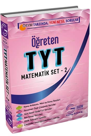 Gür Yayınları TYT Matematik Öğreten Set-2