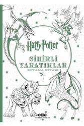 Yapı Kredi Yayınları - Harry Potter Sihirli Yaratıklar Boyama Kitabı Yapı Kredi Yayınları