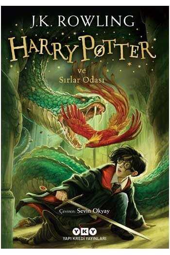 Harry Potter ve Sırlar Odası - 2.kitap Yapı Kredi Yayınları