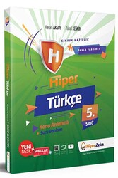 Hiper Zeka - Hiper Zeka 5. Sınıf Hiper Türkçe Konu Anlatımlı Soru Bankası