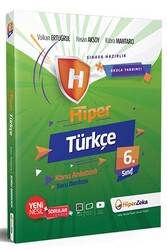 Hiper Zeka - Hiper Zeka 6. Sınıf Hiper Türkçe Konu Anlatımlı Soru Bankası
