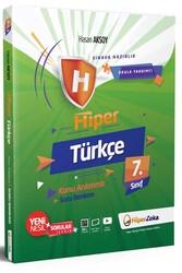 Hiper Zeka - Hiper Zeka 7. Sınıf Hiper Türkçe Konu Anlatımlı Soru Bankası
