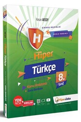 Hiper Zeka - Hiper Zeka 8. Sınıf Hiper Türkçe Konu Anlatımlı Soru Bankası