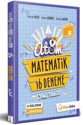 Hiper Zeka - Hiper Zeka 8. Sınıf LGS ATOM Matematik 16 Deneme Yeni Nesil