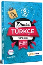 Hiper Zeka - Hiper Zeka 8. Sınıf Zümre Türkçe %100 LGS Soru Bankası