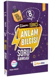 Hiper Zeka - Hiper Zeka 8. Sınıf Zümre Türkçe Anlam Bilgisi Soru Bankası Yeni Nesil