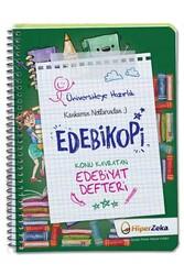 Hiper Zeka - Hiper Zeka Üniversiteye Hazırlık Konu Kavratan AYT Edebiyat Defteri Edebikopi