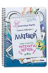 Hiper Zeka - Hiper Zeka Üniversiteye Hazırlık Konu Kavratan AYT Matematik 2 Defteri Matekopi