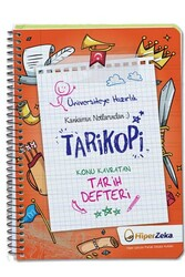 Hiper Zeka - Hiper Zeka Üniversiteye Hazırlık Konu Kavratan TYT AYT Tarih Defteri Tarikopi