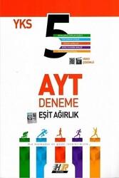 Hız ve Renk Yayınları - Hız ve Renk Yayınları AYT Eşit Ağırlık 5 li Deneme