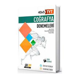 Hız ve Renk Yayınları - Hız ve Renk Yayınları TYT Coğrafya 40×5 Denemeleri
