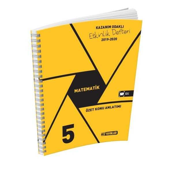 Hız Yayınları 5. Sınıf Matematik Etkinlik Defteri